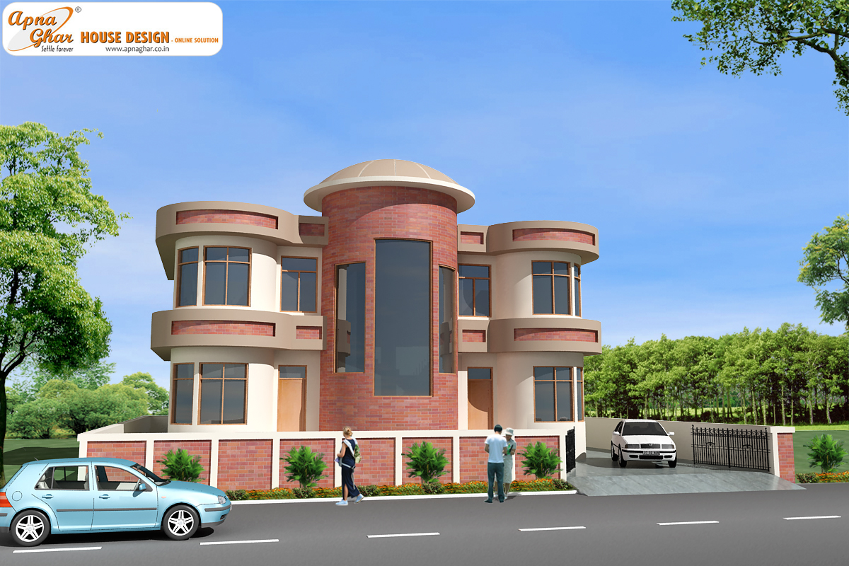 Duplex house design apnaghar house design page 5 for Duplex house models