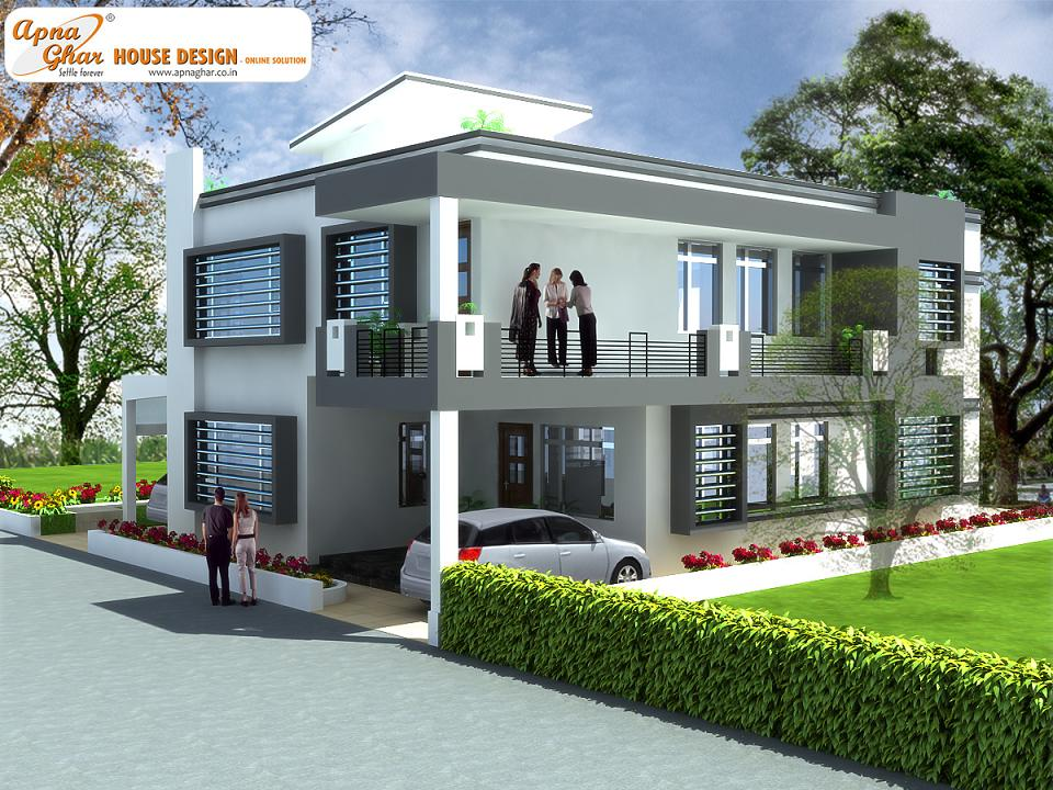 Duplex house design apnaghar house design Small duplex house photos