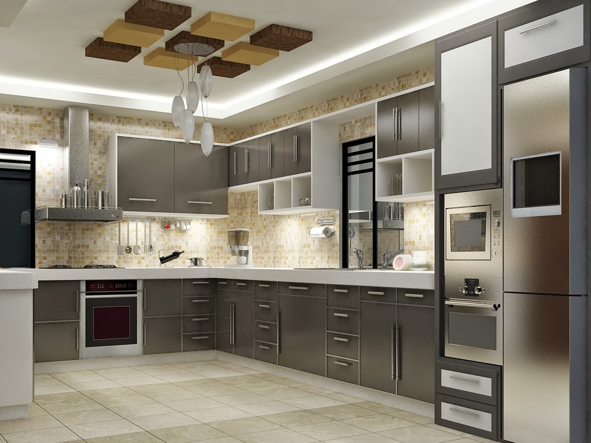 April 2014 apnaghar house design for Kitchen interior images